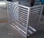 广东百叶空调外机罩 铝合金空调罩定做 量大从优